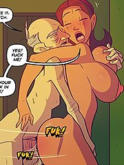 Ram your cock in me - Keeping it up with the Joneses 5 by jab comix