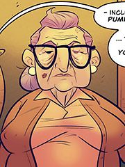 I needed to feel its heat between my hands - My mom the book tour star by jabcomix (incest comics)